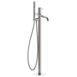 BRENTA напольный смеситель для ванны никель, IMPRESE ZMK081906060
