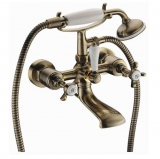 Cuthna antiqua смеситель для ванной, бронза, IMPRESE 10280 antiqua