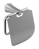 CUTHNA stribro держатель для туалетной бумаги, IMPRESE 140280 stribro