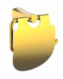 CUTHNA zlato держатель для туалетной бумаги, IMPRESE 140280 zlato