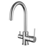 DAICY смеситель для кухни на две воды, хром, IMPRESE 55009-U