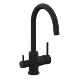 DAICY смеситель для кухни на две воды, черный, IMPRESE 55009-UB