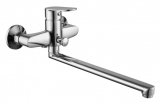 LASKA cмеситель для ванной, хром, IMPRESE 35040