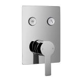 SMART CLICK врезной смеситель для душа скрытого монтажа IMPRESE ZMK101901201