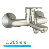 LASKA cмеситель для ванны, satinox, IMPRESE 10040S