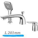 PRAHA new смеситель на борт ванны, IMPRESE 85030 new