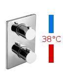 IMPRESE CENTRUM VRB-10400Z cмеситель для ванны с термостатом скрытого монтажа