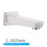 IMPRESE Breclav VR-11245W излив для смесителя скрытого монтажа, хром/белый