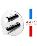 IMPRESE CENTRUM VRB-15400Z cмеситель для ванной с термостатом скрытого монтажа