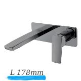 GRAFIKY смеситель для умывальника монтаж на стену, IMPRESE ZMK041807030